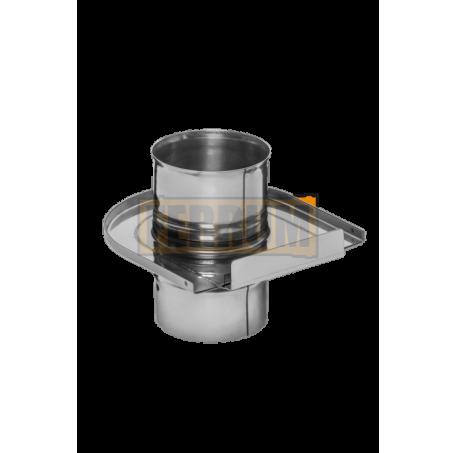 Шибер-задвижка (430/0,8 мм) Ø115 - фотография 1