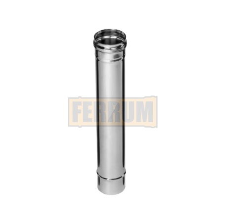 Дымоход 0,5м (430/0,8 мм) O115 - фотография 1