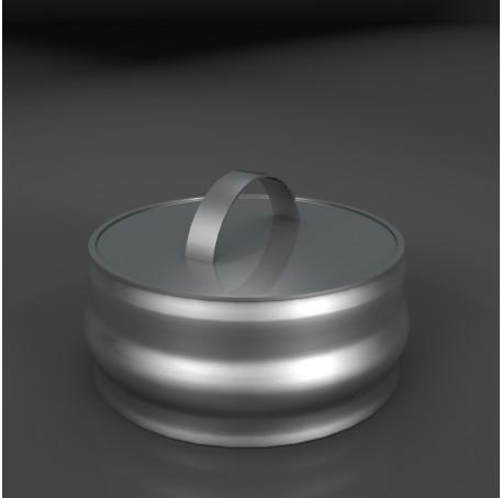 Заглушка ревизии Термо-Р 201, 0,5, D 250 - фотография 1