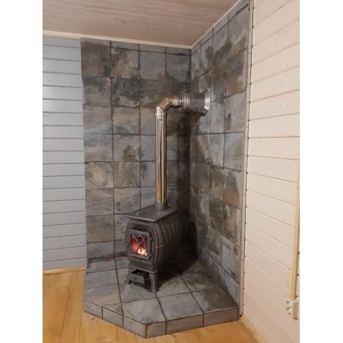Отопительно-варочная печь-камин Бахта - фотография 10