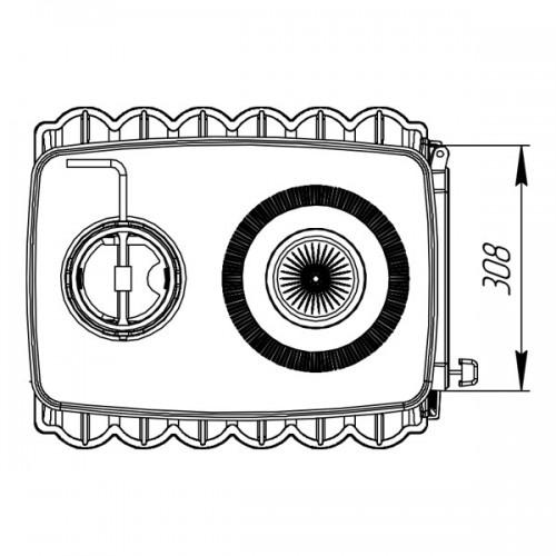 Отопительно-варочная печь-камин Бахта - фотография 6