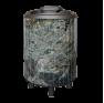 Банная печь Атмосфера в ламелях Жадеит перенесенный рисунок - фотография 2