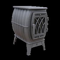 Отопительно-варочная печь-камин Бахта