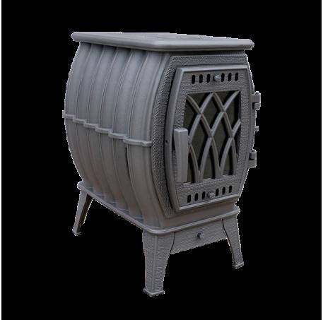 Отопительно-варочная печь-камин Бахта - фотография 1