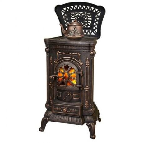 Чугунная печь Harry Flame Ambra