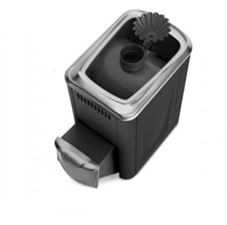 Банная печь Термофор Ангара 2012 Carbon ДН ЗК антрацит - фотография 1