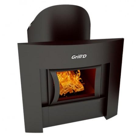 Печь для бани GRILL'D Aurora 160 Window