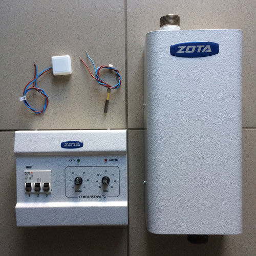 Электрокотел ZOTA Econom - 12 - фотография 2