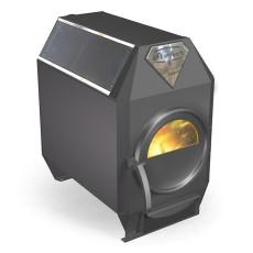 Печь длительного горения Ермак Термо 100C со стеклом