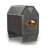 Печь длительного горения Ермак Термо 200С со стеклом