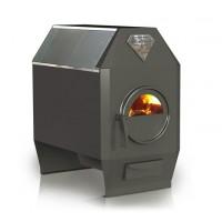 Печь длительного горения Ермак Термо 300С со стеклом