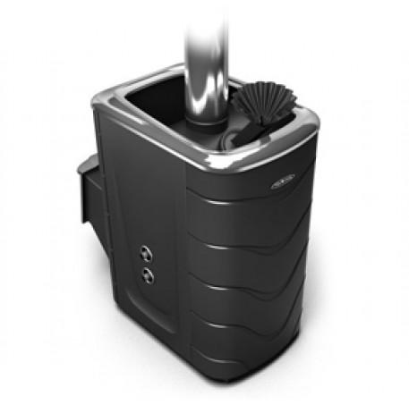 Банная печь Термофор Гейзер 2014 Carbon ДН ЗК ТО антрацит - фотография 1