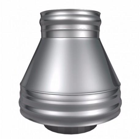 Конус КТ-Р 304, 0,5/304, 0,5 d 150/250 с хомутом на замке ТИС - фотография 1