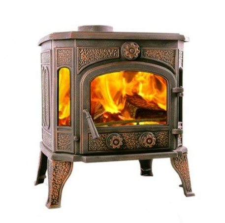 Чугунная печь Harry Flame МИЛТОН