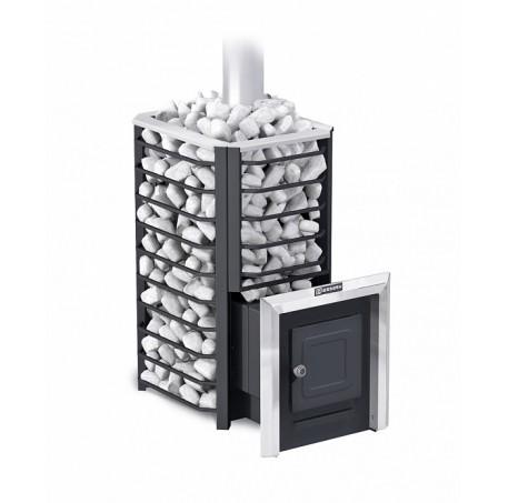 Дровяная банная печь Ермак 24 Сетка-Стандарт (Сталь) - фотография 1