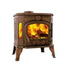 Чугунная печь Harry Flame ОТТАВА (патина)