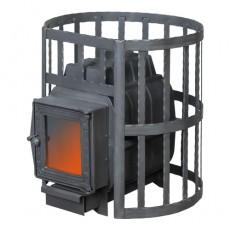 Банная печь ПароВар 16 сетка-ковка (К201) без выноса