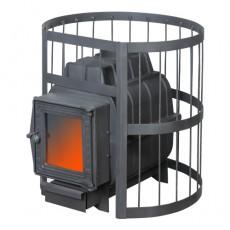 Банная печь ПароВар 16 сетка-прут (К201) без выноса