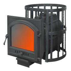 Банная печь ПароВар 16 сетка-ковка (К505)