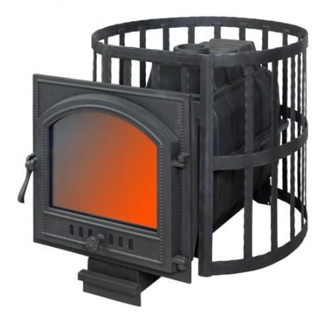 Банная печь ПароВар 22 сетка-ковка (К505)