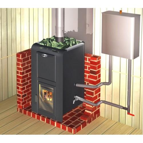 Банная печь Ермак Элит 16 под теплообменник - фотография 3