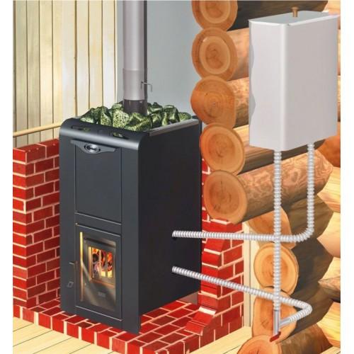 Банная печь Ермак Элит 12 под теплообменник - фотография 5