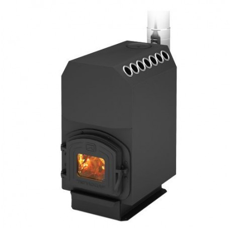 Отопительная печь Теплодар ТОП-модель 200 (дверца чугун)