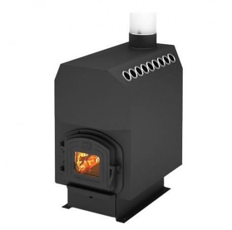 Отопительная печь Теплодар ТОП-модель 300 (дверца чугун)