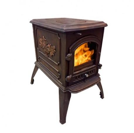 Чугунная печь Harry Flame ТОРОНТО (патина)