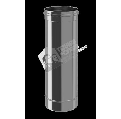 Труба моно L500, 430, 0,8, D 115 - фотография 1
