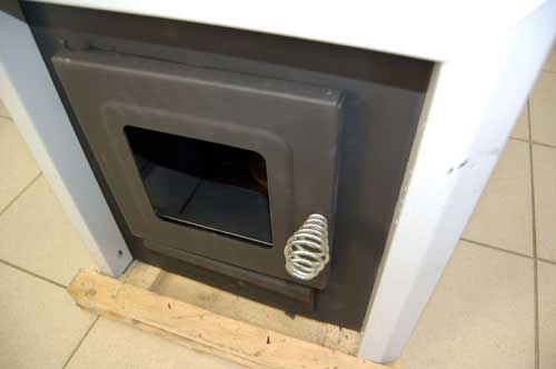 Дверца банной печи