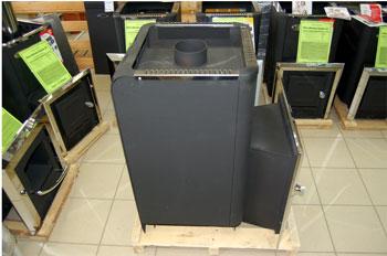 Банная печь Ермак 30ПС 2К